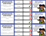 Multiple Meaning Words 'Clip and Flip' Cards - Games 4 Gains  - 3
