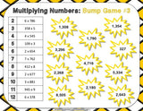 Multiplication Bump Games - Games 4 Gains  - 3
