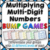 Multiplication Bump Games - Games 4 Gains  - 1