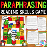 Paraphrasing Board Game - Games 4 Gains  - 1