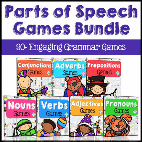 Parts of Speech Games - Games 4 Gains