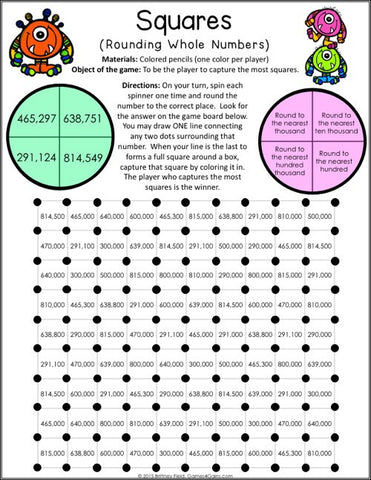 Place Value Games for 4th Grade – Games 4 Gains