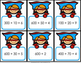 Place Value 'Superhero Draw' Game - Games 4 Gains  - 4