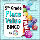 Place Value Bingo Game - Games 4 Gains  - 1