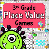 Place Value Games for 3rd Grade - Games 4 Gains  - 1