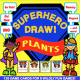 Plants 'Superhero Draw' Game - Games 4 Gains  - 1