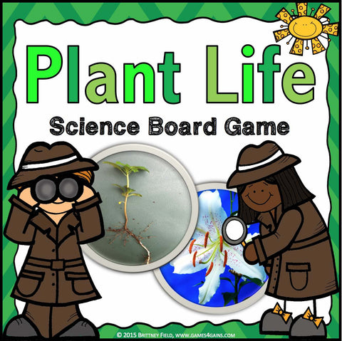Plants Board Game - Games 4 Gains  - 1