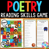 Poetry Board Game - Games 4 Gains  - 1
