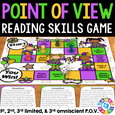 Point of View (Advanced) Board Game - Games 4 Gains  - 1