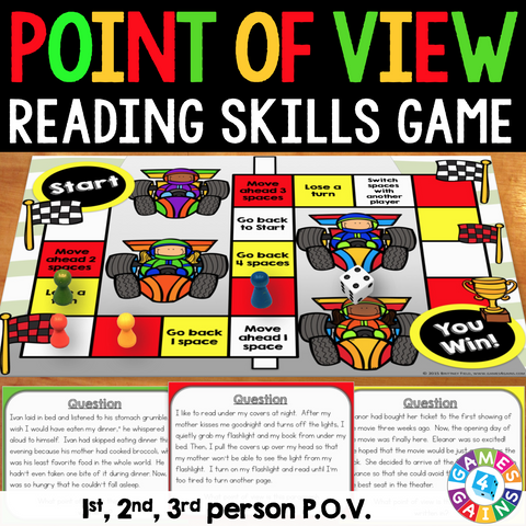 Point of View Board Game - Games 4 Gains  - 1