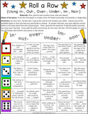Prefixes and Suffixes Games Bundle - Games 4 Gains  - 2