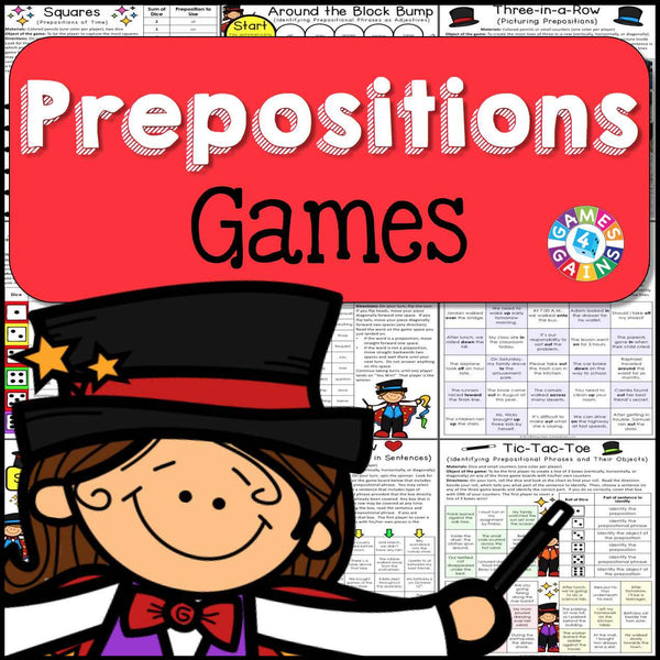 Prepositions Games