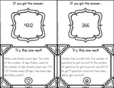 Ratios Word Problems Scavenger Hunt Cards - Games 4 Gains  - 3