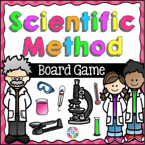 Scientific Method Board Game - Games 4 Gains  - 1