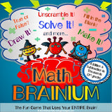Addition and Subtraction Brainium Game - Games 4 Gains  - 1