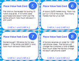 Place Value Task Cards - Games 4 Gains  - 2