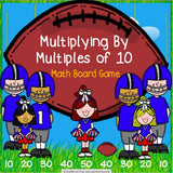 Multiplication by Multiples of 10 Board Game - Games 4 Gains  - 1