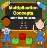 Multiplication Board Game - Games 4 Gains  - 1