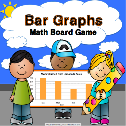 Bar Graphs Board Game - Games 4 Gains  - 1