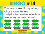 Multiplication Bingo Game - Games 4 Gains  - 4