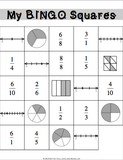 Equivalent Fractions Bingo Game - Games 4 Gains  - 2