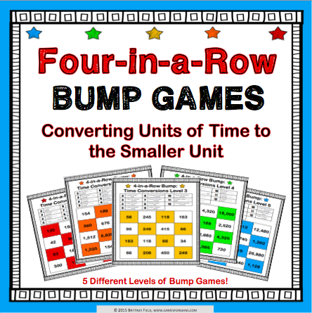 Time Conversions Bump Games - Games 4 Gains  - 1