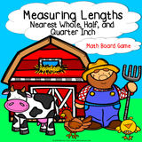 Measuring Lengths Board Game - Games 4 Gains  - 1