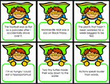 Figurative Language 'Superhero Draw' - Games 4 Gains  - 3