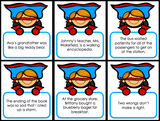 Figurative Language 'Superhero Draw' - Games 4 Gains  - 4