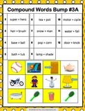 Compound Words Bump Games - Games 4 Gains  - 3