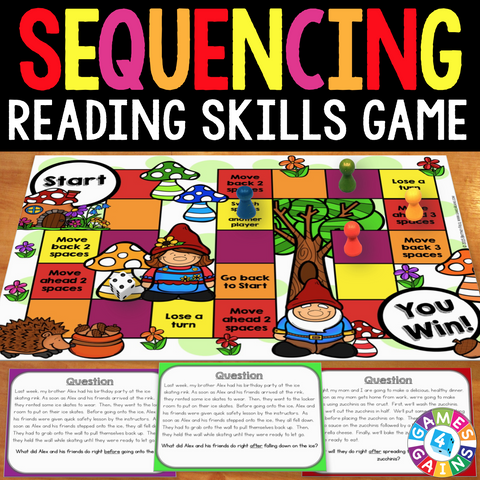 Sequencing Board Game - Games 4 Gains  - 1