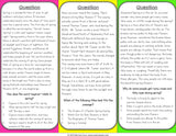 Spring Reading Comprehension Board Game - Games 4 Gains  - 3