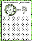 Subtraction 'Squares' Game - Games 4 Gains  - 3