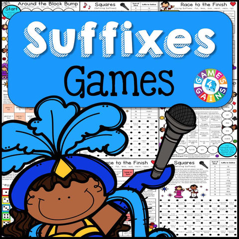 Suffixes Games - Games 4 Gains  - 1