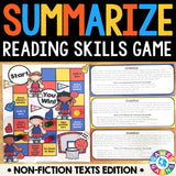 Summarizing Non-Fiction Board Game - Games 4 Gains