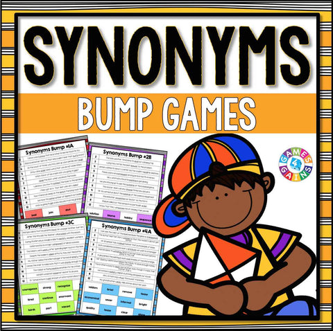 Synonyms Bump Games - Games 4 Gains  - 1