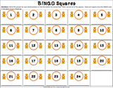 Thanksgiving Math Bingo Game - 3rd Grade - Games 4 Gains  - 3