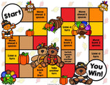 Thanksgiving Reading Comprehension Board Game - Games 4 Gains  - 2