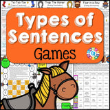 Types of Sentences Games - Games 4 Gains  - 1