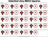 Valentine's Day Math Bingo - Multi-Digit Multiplication - Games 4 Gains  - 4
