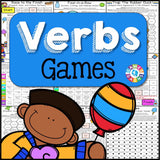 Verbs Games - Games 4 Gains  - 1