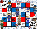 Armed Forces Reading Comprehension Board Game - Games 4 Gains  - 2