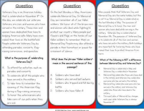 Armed Forces Reading Comprehension Board Game - Games 4 Gains