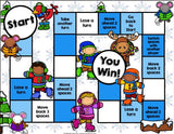 Winter Reading Comprehension Board Game - Games 4 Gains  - 2