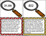 Multi-Step Word Problem Task Cards for 4th Grade - Games 4 Gains  - 2