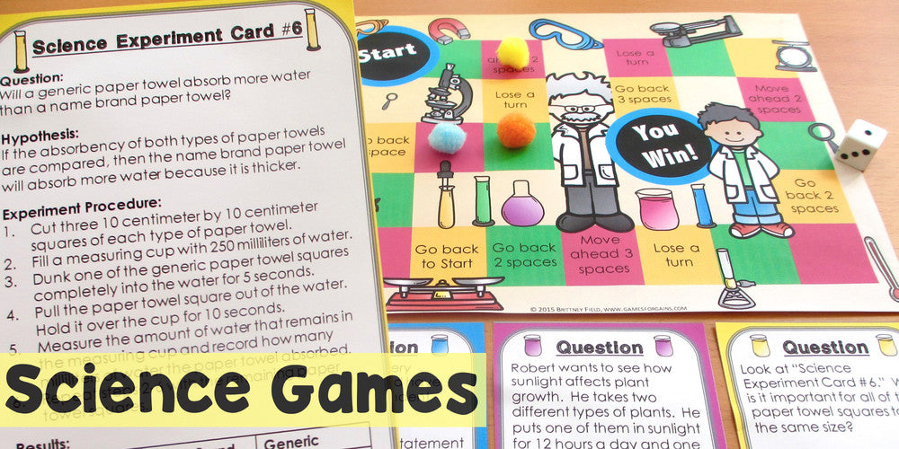 Science Games and Activities