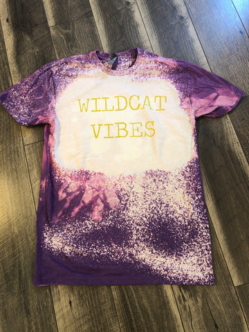 Wildcat Vibe Bleached Tee