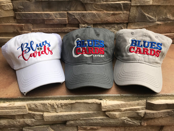 BLUES & CARDS HATS