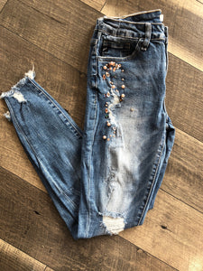 Pink Gem Denim