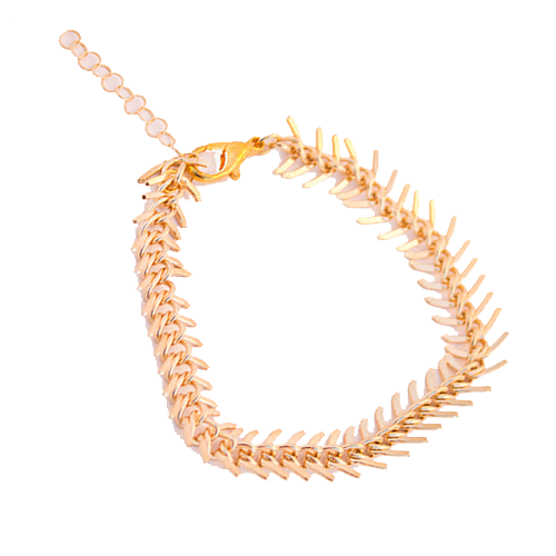 Feather Chain Bracelet